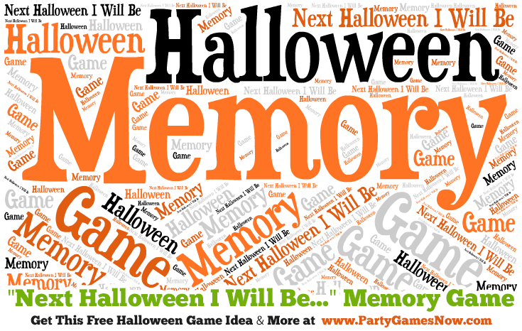 Adult Halloween Games - Party Games