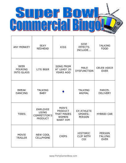 superbowl-commercial-bingo